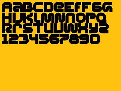 Alphabet 9 (Gomiti) typography type type design geometric font
