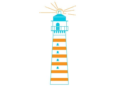 Dribbble lighthouse