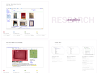 Craigslist redesign process research