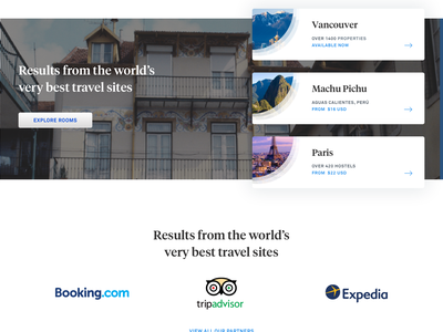 Travel Site — Design Exploration ireland airbnb bridge manhattan new york blog intercom akkurat tiempos headline board mood travel