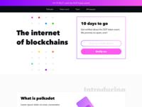 Blockchain — Landing Page