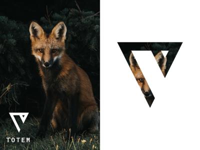Totem — Brand Exploration eos blockchain block hirevibes cryptocurrency crypto explore logo design brand fox totem