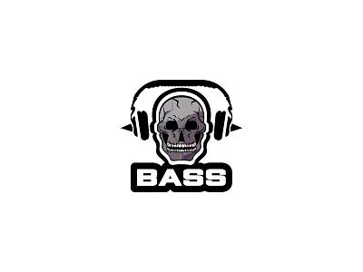 Bass mascot skull bass typography dailylogochallenge dailylogo minimal logodesign logo illustration graphicdesign design branding