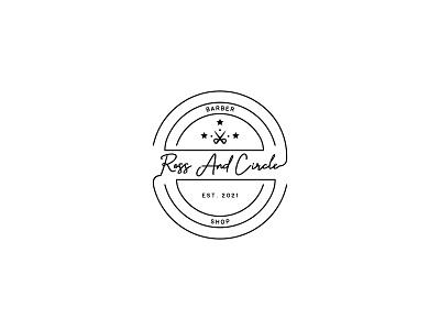 Ross & Circle barber barbershop typography dailylogochallenge dailylogo minimal logodesign logo illustration graphicdesign design branding