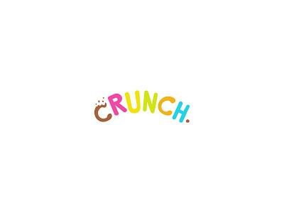 Crunch crunch cereals typography dailylogochallenge dailylogo minimal logodesign logo illustration graphicdesign design branding
