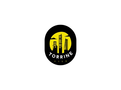 Torrine city modern city typography dailylogochallenge dailylogo minimal logodesign logo illustration graphicdesign design branding
