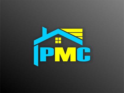 PMC vector logo design logodesign logo branding flat design