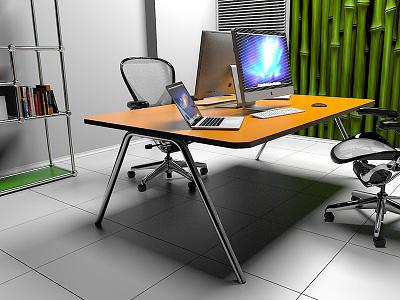 3d Model Office office vray render 3dsmax 3d interior