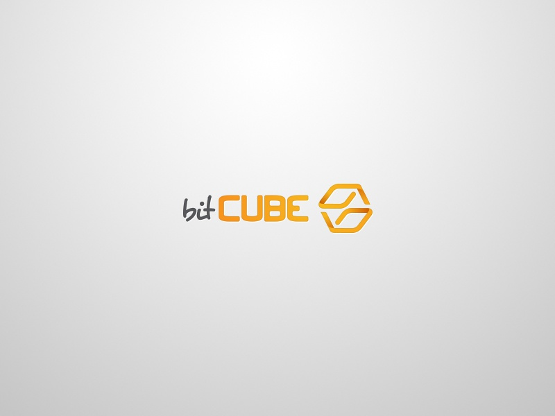bitCUBE logo logo cube