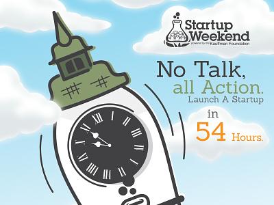 Startup Weekend in Novi Sad novi sad startup fortress cartoon vector