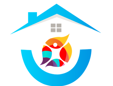 "Real Estate business logo ""Apna Ghhar"" real estate logo flat minimal logo design typography branding logo vector design portfolio illustration"