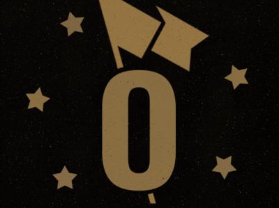 Outpost Supply Co. speckled graphic design design grunge logo branding design website typography stars identity flag branding