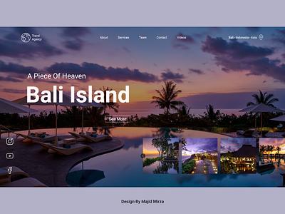 Travel Agency ui  ux design uiux 2021 trend 2021 webdesign agency travel uidesign website minimal web ux ui design