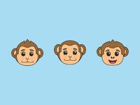Dribbble monkey 2
