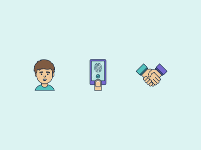 Icons designed for an app