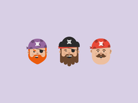 Pirate Emoji's