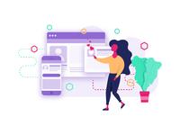 Digital Designer Illustration