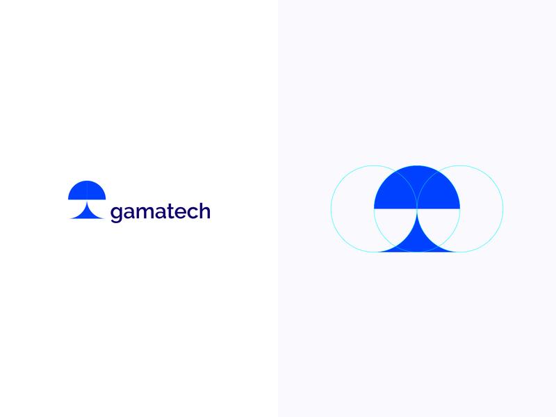 Gamatech logotype logodesign colorful logo design colorful design color colorful logo branding logo design