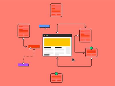 Studio | AB Webdesign colorful webdesign studio website design