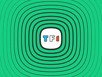 Nouvelle identité TF1 brand identity brand design design branding tv shows tv