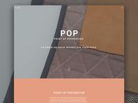 Pop Landing Page