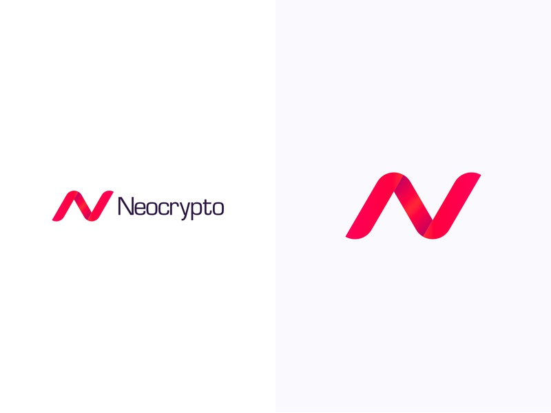 Neocrypto logotype logodesign colorful logo design colorful design color colorful logo branding logo design