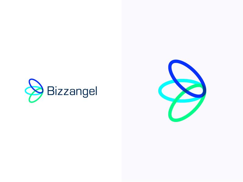 Bizzangel logotype logodesign colorful logo design colorful design color colorful logo branding logo design