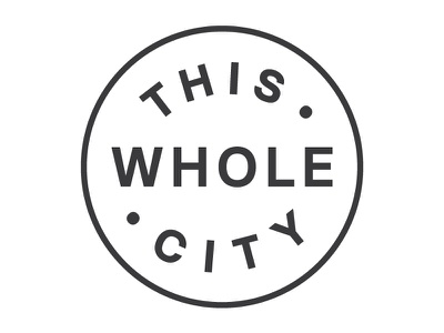 This Whole City Logo logo branding