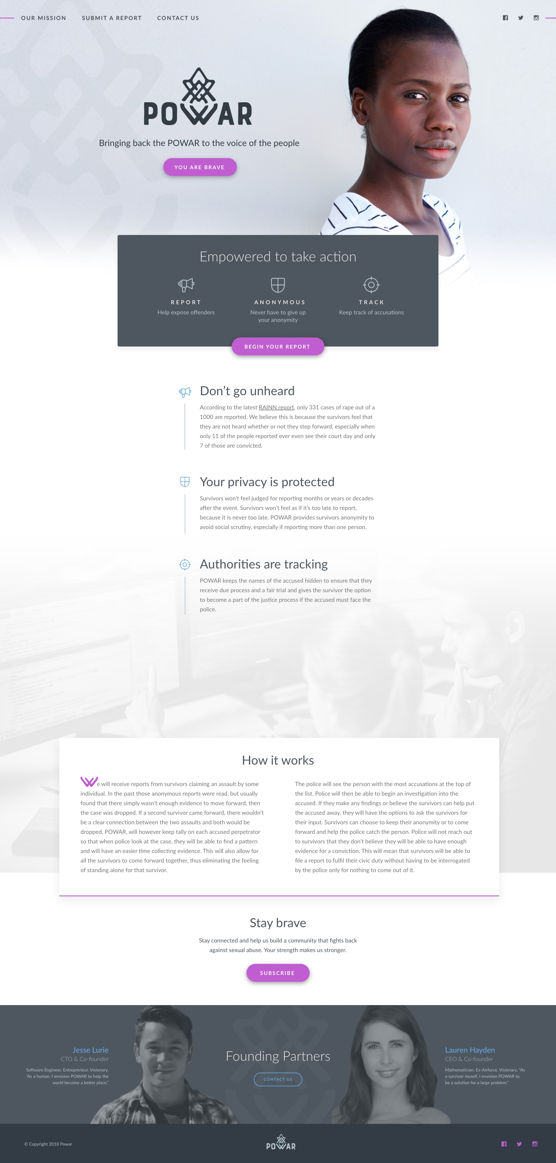 Homepage v1a