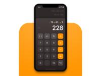 iOS Calculator Redesign