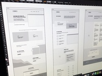 iPromote Wireframes Rd. 1