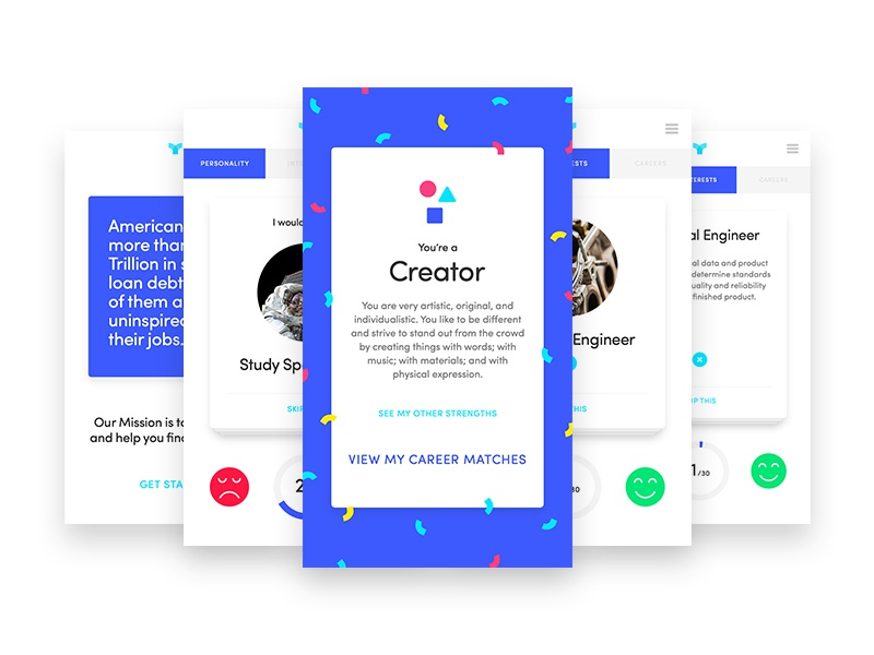 Fyc Assessment Ui By Alex Sailer For Focus Lab On Dribbble Talent assessments assess your talent holistically. fyc assessment ui by alex sailer for