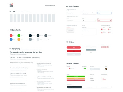 UI Kit input grid ui kit library pattern ui app website focus lab