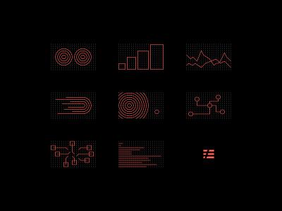 Dot Grid Icons line dot grid iconography developer icons focus lab