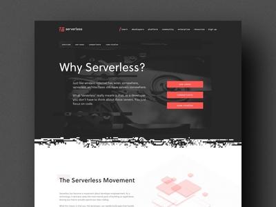 Serverless Site Details grid dot sort pixel 3d illustration button glitch web site focus lab