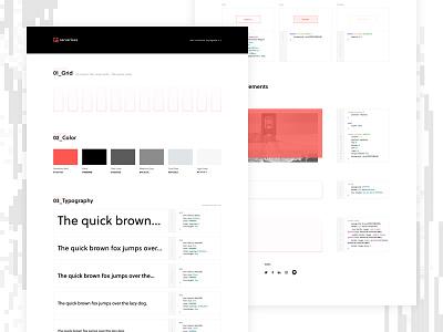 Serverless UI Styleguide grid typography ui kit css styleguide code ux ui focus lab