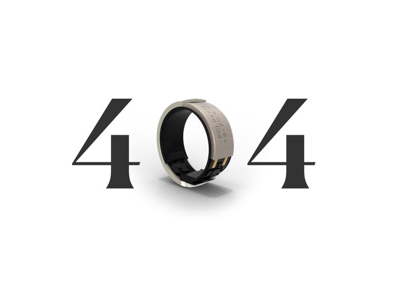 Token 404 3d render ring 404 focus lab