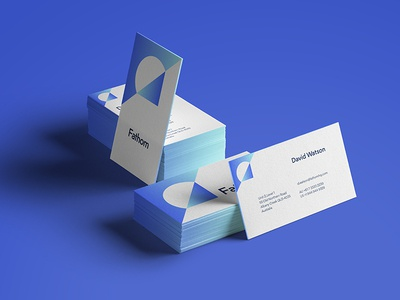 Card style collateral card business grid pattern chart graph logo branding focus lab