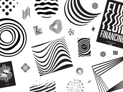 Ripple Effect Exploration ripple typography branding logo focus lab