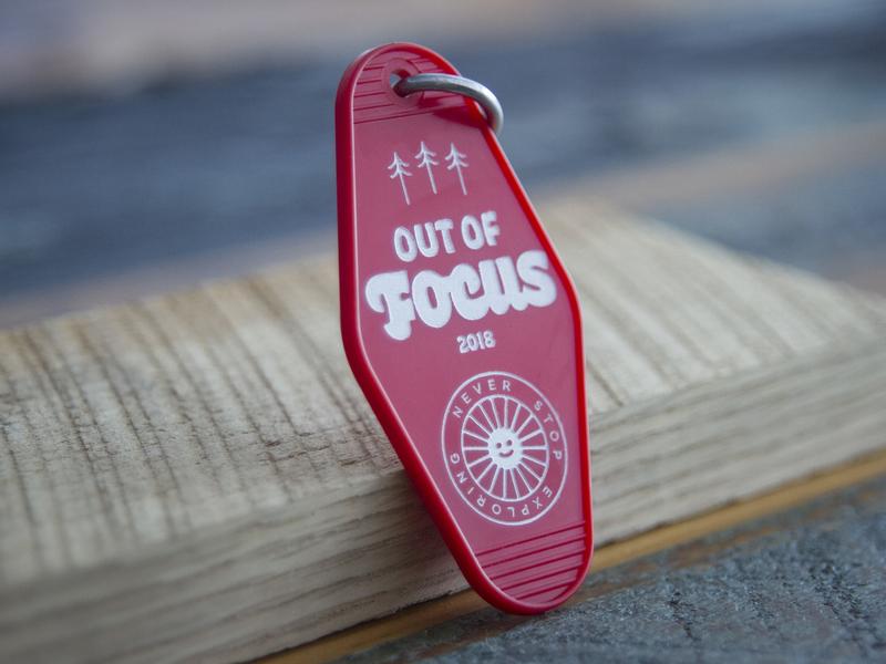 Out of Focus: Keytags laser keychain keytag branding focus lab