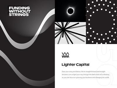 Light Exploration branding logo typography focus lab