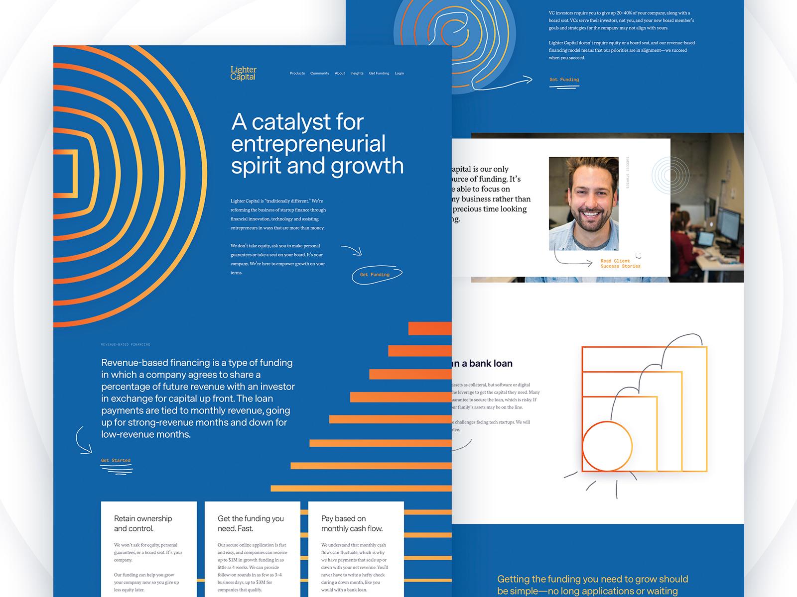 Homepage mock v2