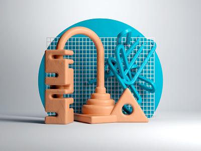 Sculpture Scene sculpture clay render 3d focus lab