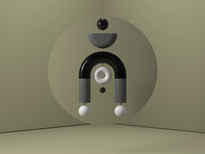 Sculpture 002 focus lab 3d animation abstract cgi render 3d