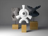 Sculpture Trio
