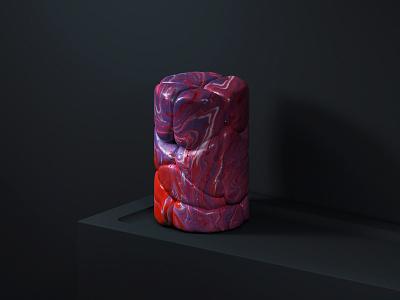 Clay Mix 001 model still life sculpture render 3d clay focus lab