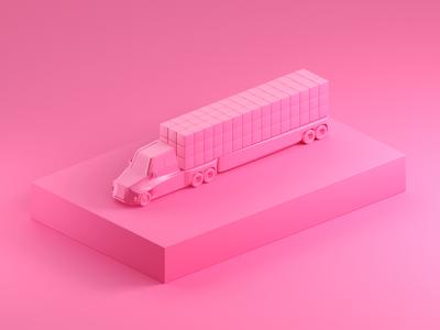 Truck it.