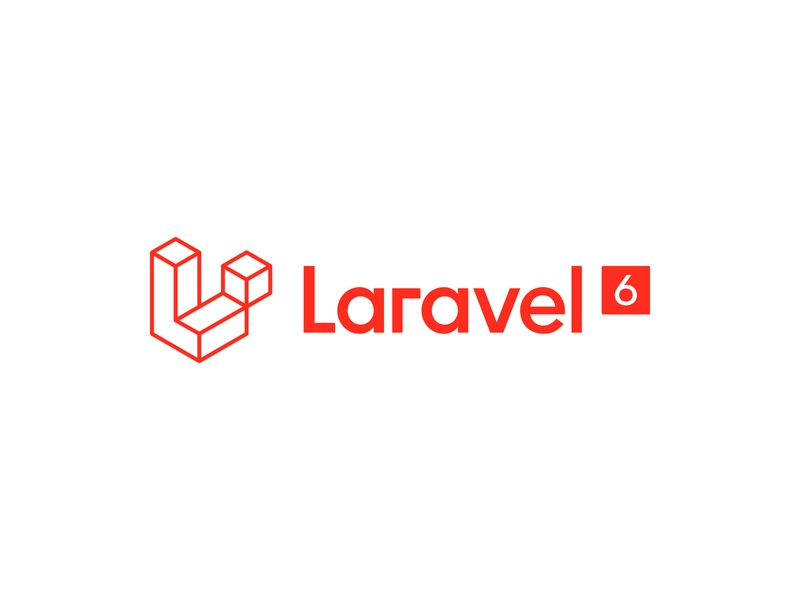 The New Laravel logotype logomark typography identity perspective isometric logo branding focus lab