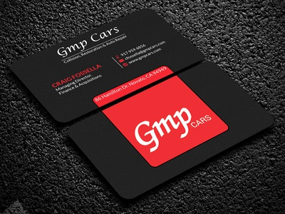GMP Cars Business Card