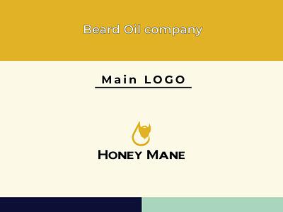 Beard Oil Logo beard oil logo beard beard logo design modern logo creative logo combination logo business logo minimal oil logo branding logo